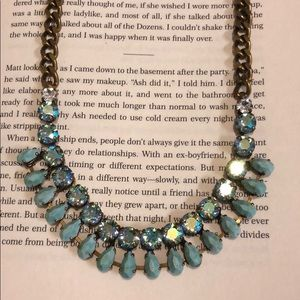 Sorrelli Azure Allure Bib Necklace